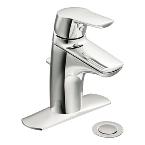 Moen 6810 Method Single Handle Low Arc Bathroom Faucet - Chrome