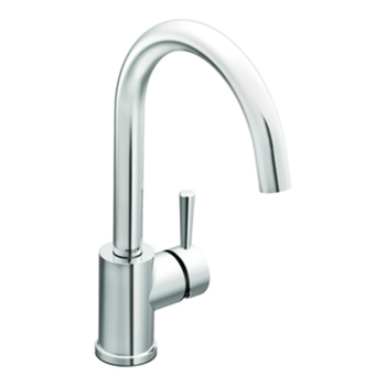 Moen 7100 Level Single Handle High Arc Kitchen Faucet Chrome