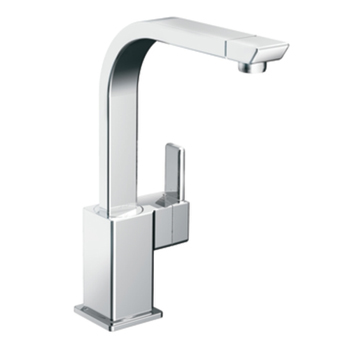 Moen S7170 90 Degree Single Handle Kitchen Faucet Chrome