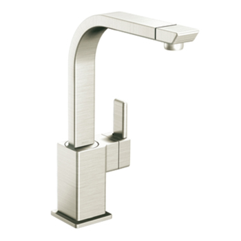 Moen S7170CSL 90 Degree Single Handle Kitchen Faucet Classic Stainless