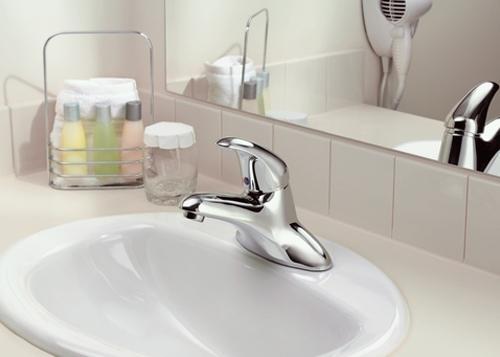 Moen 8413 Commercial Single Handle Lavatory Faucet Chrome