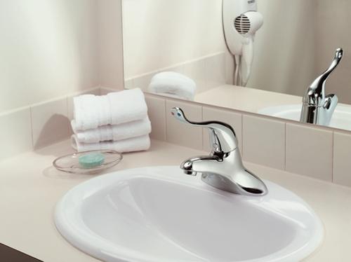 Moen 8416 Commercial Single Handle Lavatory Faucet Chrome