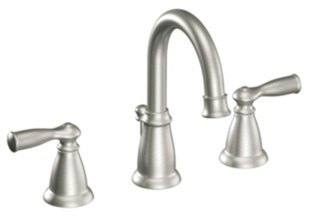 Moen CA84924SRN Banbury Two-Handle Widespread Lavatory Faucet - Spot Resist Brushed Nickel