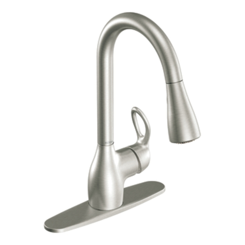 Moen CA87011SRS Kleo Single Handle Pulldown Kitchen Faucet - Spot Resist Stainless