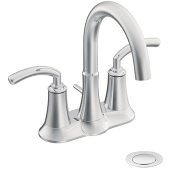 Moen S6510 Icon Two-Handle Centerset Lavatory Faucet Chrome
