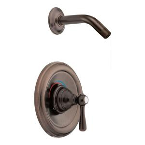 Moen T2112NHORB Kingsley Posi-Temp(R) Single Handle Shower Trim - Oil Rubbed Bronze