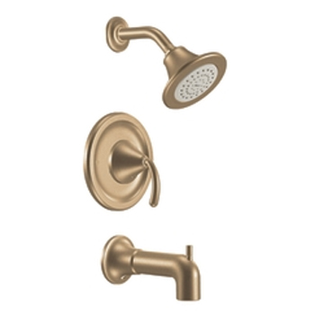 Moen TS2143BB Icon Posi-Temp Single Handle Tub/Shower Trim Brushed Bronze