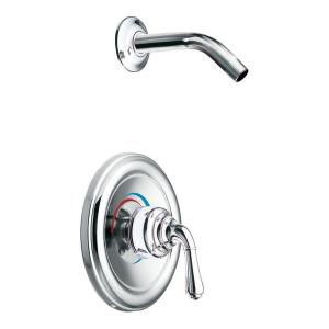 Moen T2444NH Monticello Posi-Temp(R) Single Handle Shower Trim - Chrome