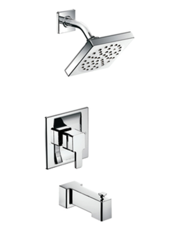 Moen T3713 90 Degree Moentrol Single Handle Tub/Shower Trim Chrome