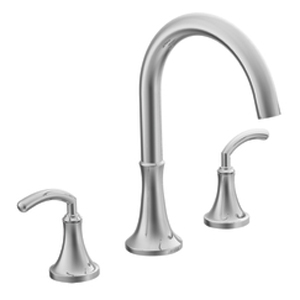 Moen TS963 Icon Two Handle Roman Tub Faucet Trim Chrome