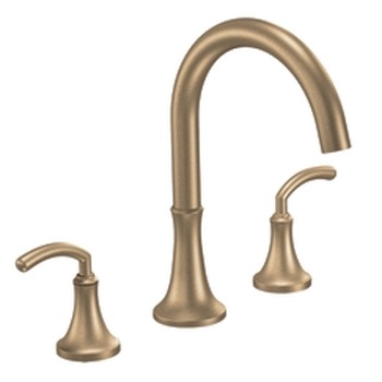Moen TS963BB Icon Two Handle Roman Tub Faucet Trim Brushed Bronze