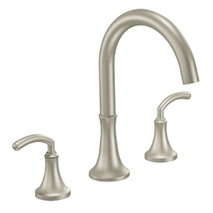 Moen TS963BN Icon Two Handle Roman Tub Faucet Trim Brushed Nickel