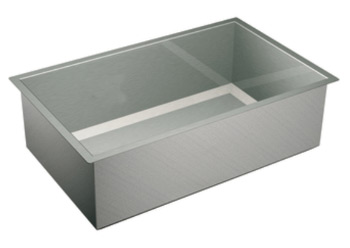 Moen 22380 Lancelot 16 Gauge Single Bowl Undermount Sink - Stainless Steel