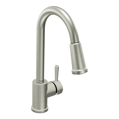 Moen 7175CSL Level Single Handle Pulldown Kitchen Faucet Classic - Stainless