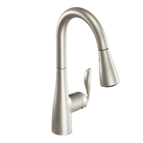 Moen 7594CSL Arbor Single-Handle High Arc Pulldown Kitchen Faucet - Classic Stainless