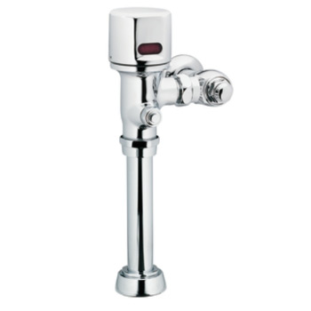 moen mpower commercial electronic toilet flush valve chrome - Flush Valve