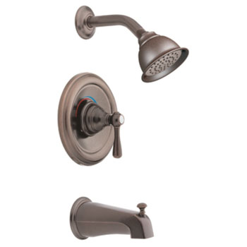 Moen T2113EPORB Kingsley Posi-Temp(R) Single Handle Tub/Shower Trim - Oil Rubbed Bronze