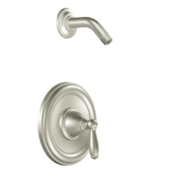 Moen MOT2152NHBN Brantford Posi-Temp(R) Single Handle Shower Trim - Brushed Nickel