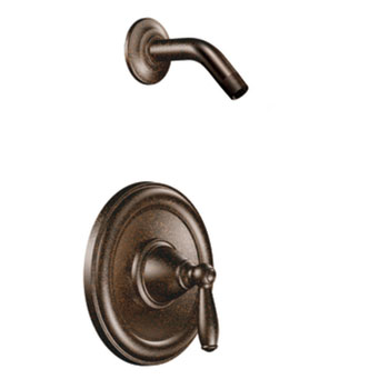 Moen T2152NHORB Brantford Posi-Temp(R) Single Handle Shower Trim - Oil Rubbed Bronze