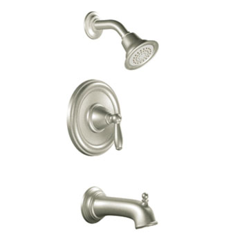 Moen T2153EPBN Brantford Posi-Temp(R) Single Handle Tub/Shower Trim - Brushed Nickel