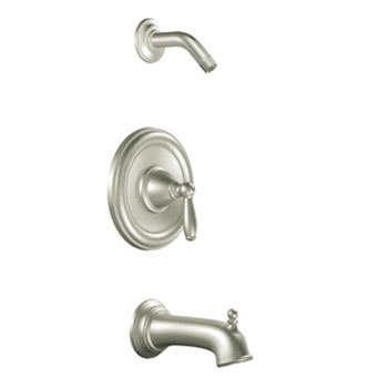 Moen T2153NHBN Brantford Posi-Temp(R) Single Handle Tub/Shower Trim - Brushed Nickel