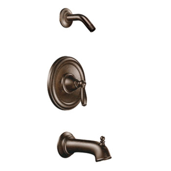 Moen T2153NHORB Brantford Posi-Temp(R) Single Handle Tub/Shower Trim - Oil Rubbed Bronze