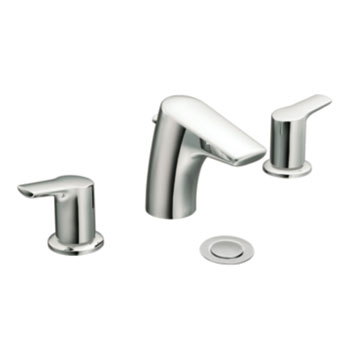 Moen T6820 Method Two-Handle Widespread Lavatory Faucet Trim - Chrome