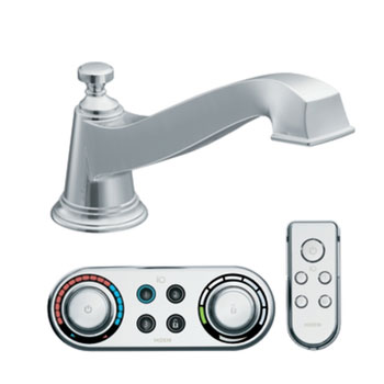 Moen T9221 Rothbury Roman Tub Faucet Trim with ioDIGITAL(TM) Technology - Chrome