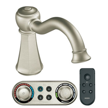 Moen T9321BN Vestige Roman Tub Faucet Trim with ioDIGITAL(TM) Technology - Brushed Nickel
