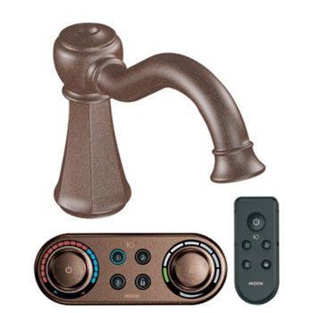 Moen T9321ORB Vestige Roman Tub Faucet Trim with ioDIGITAL(TM) Technology - Oil Rubbed Bronze