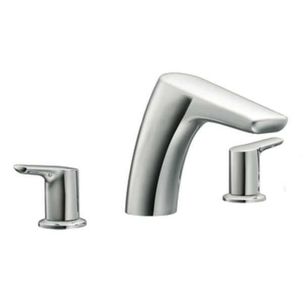 Moen T986 Method Two-Handle Roman Tub Faucet Trim - Chrome