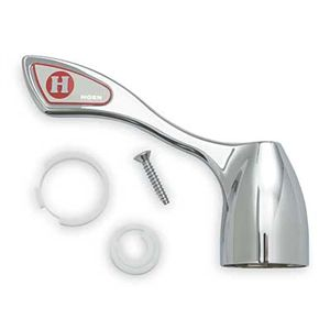 Moen 14834 Commercial Wrist Blade Handle, Hot Side - Chrome