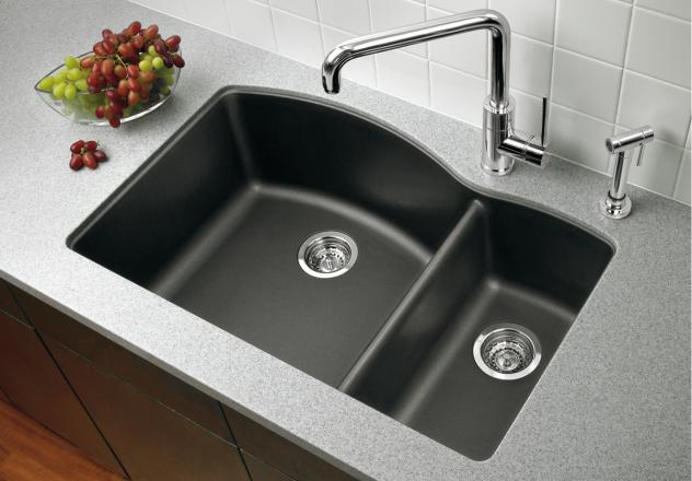 Blanco-440199-Diamond-1-1-2-Bowl-Drop-In-Silgranit-II-Kitchen-Sink---Anthracite