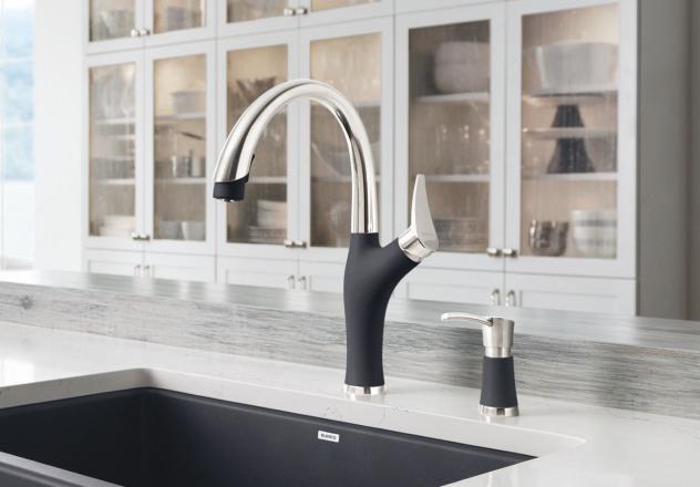 Blanco 442031 Artona Silgranit Kitchen Faucet With Pull
