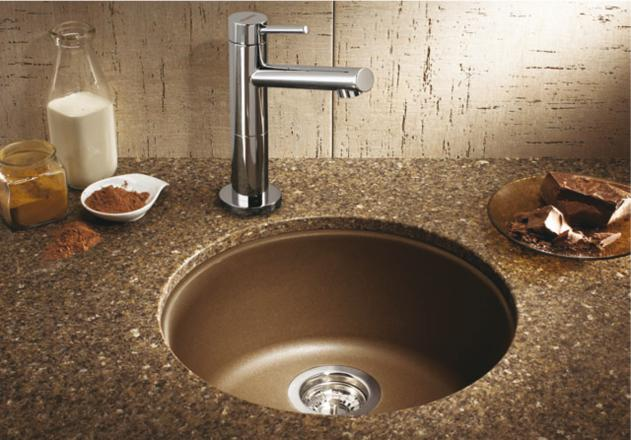 Blanco 515803 Rondo Single Bowl Secondary Sink Cafe