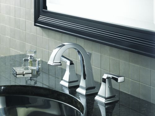 Delta 3551LF Dryden Two Handle Widespread Lavatory Faucet Chrome