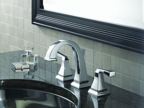 Good Delta 3551LF Dryden Delta 3551LF Dryden Two Handle Widespread Lavatory  Faucet