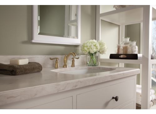 Delta 3594-CZMPU-DST Linden Two Handle Widespread Lavatory ...