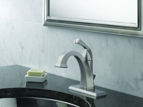 Delta 551-SS-DST Single Handle Lavatory Bathroom Faucet
