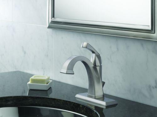 ... Delta 551 SS DST Single Handle Lavatory Bathroom Faucet