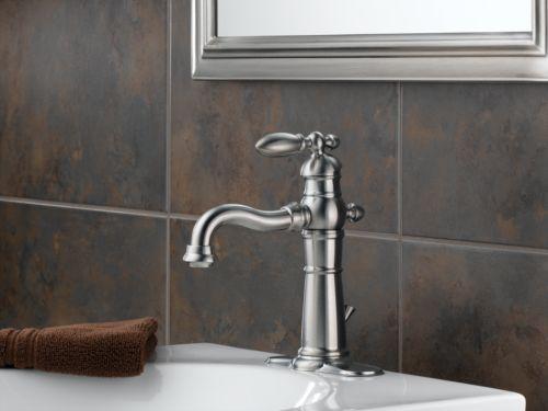 Delta Victorian 555lf Single Handle Centerset Bathroom: Delta 555LF-SS Victorian Single Handle/Hole Lavatory