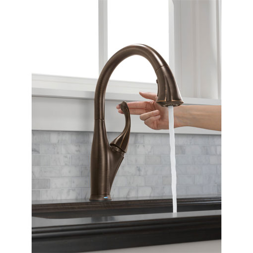 Delta 9192t Rb Dst Addison Single Handle Pull Down Kitchen Faucet Featuring Touch2o Venetian