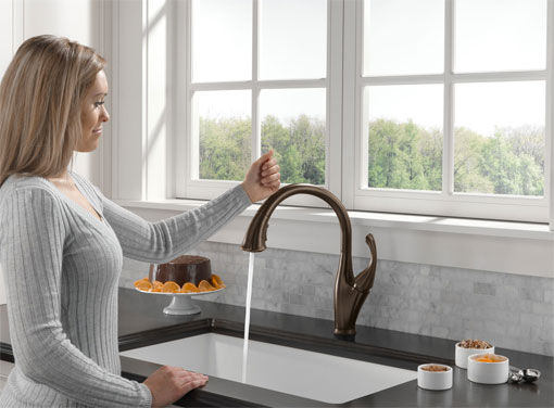 formal delta windemere oil rubbed bronze bath faucet. delta