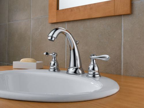 New 8 Roman Widespread Lavatory Bathroom Sink Faucet Oil: Delta B3596LF Foundations Windemere Two Handle Widespread