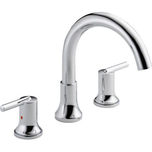 Delta T2759 Trinsic 3 Hole Roman Tub Faucet Trim Chrome