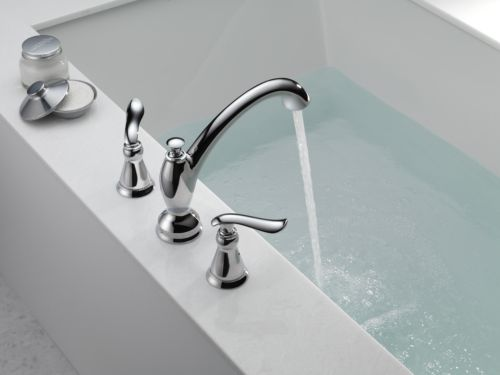 Delta T2794 Linden Two Handle Roman Tub Trim