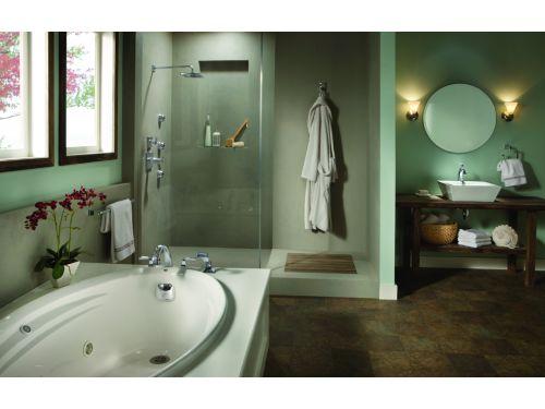 Delta T4751 Dryden Two Handle Roman Tub Faucet Trim With
