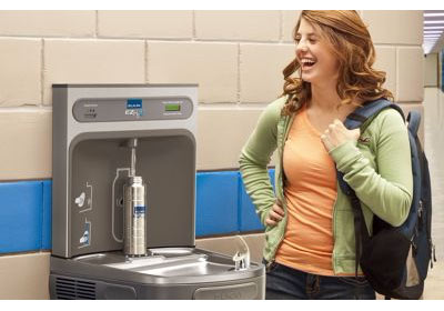 Elkay Lzs8wslk Ezh2o Wall Mount Drinking Fountain With