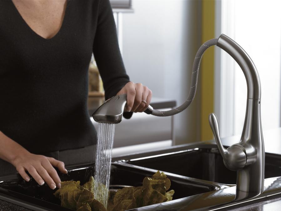 marvelous Hansgrohe Allegro Kitchen Faucet #2: ... Allegro Pull Out Kitchen Faucet Hansgrohe 06461860 06461860