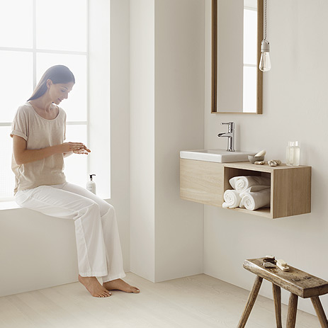 hansgrohe 14127001 talis c single hole faucet open spout. Black Bedroom Furniture Sets. Home Design Ideas